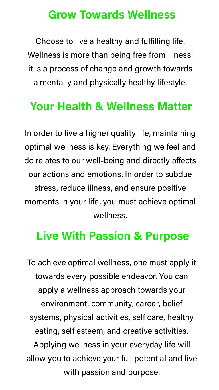 AYUSH HEALTH AND WELLNESS™  believe in a completely healthy lifestyle, a preventive and perseverance health and wellness organization driven by a single purpose.