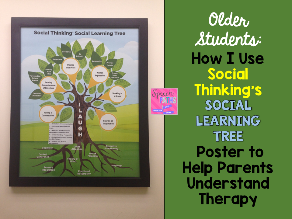 Social Thinking Executive Functioning >> Visuals To Help Parents Understand Social Skills Therapy Speech Paths