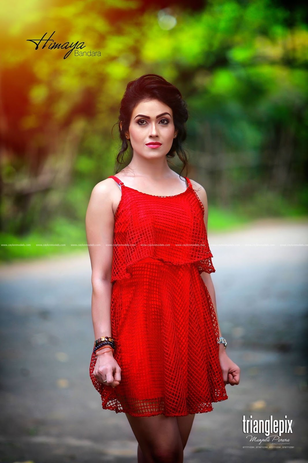 Actress  Models Himaya Bandara - Sri Lankan Beautiful -4268