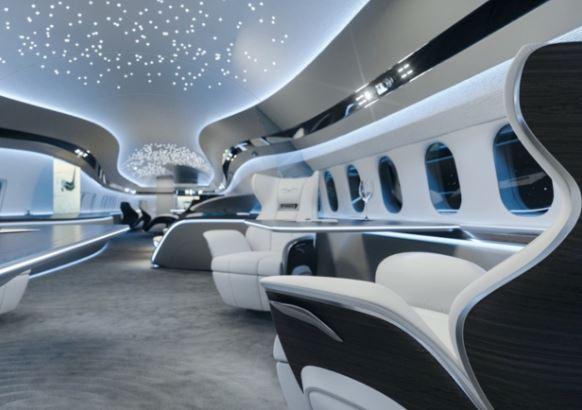 BBJ MAX 7 interior