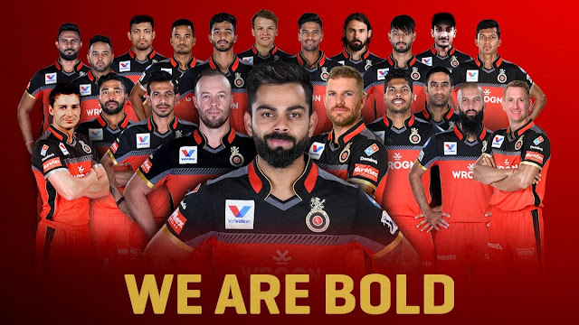 VIVO IPL 2021: ROYAL CHALLENGERS BANGALORE