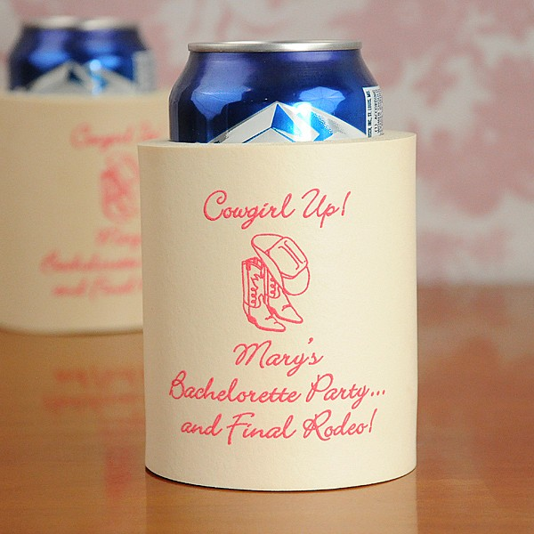 Bachelorette Party Personalized Koozie
