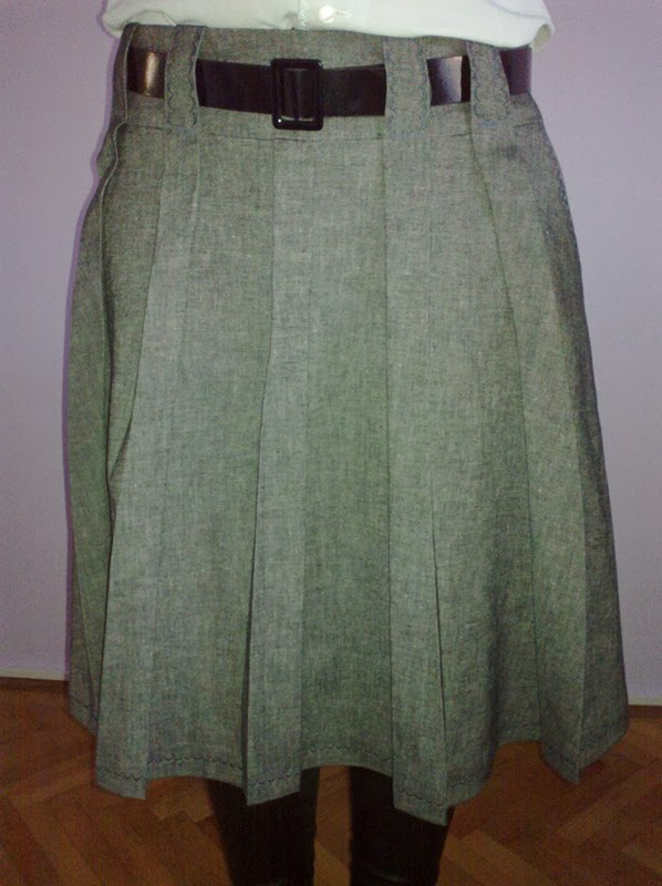 Stepalica Patterns: Zlata skirt - testing the pattern, Julijana