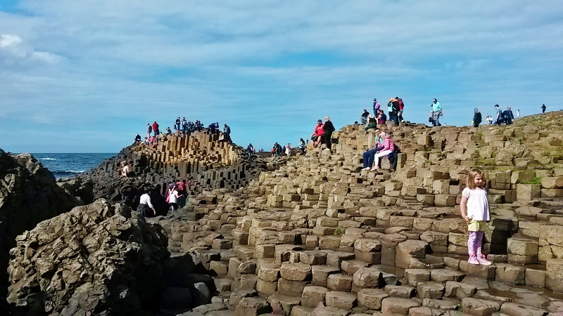 The Giant's Causeway, Tour of Ireland