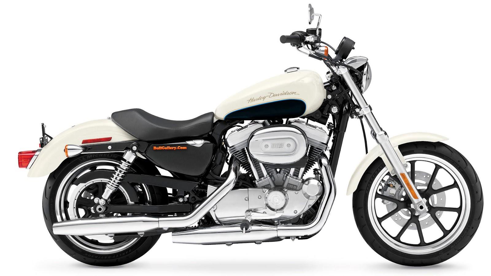 White Harley Davidson: Harley Davidson Sportster White
