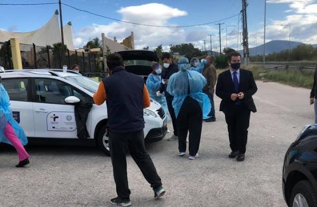 Ι. Μαλτέζος: Η Αργολίδα κάθε ημέρα που περνά δείχνει να αντιστέκεται στην πανδημία