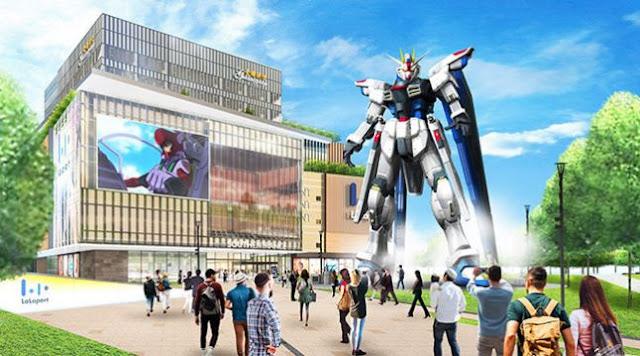 Proyek Patung Gundam ZGMF-X10A Freedom Gun akan Segera DIbangun di China
