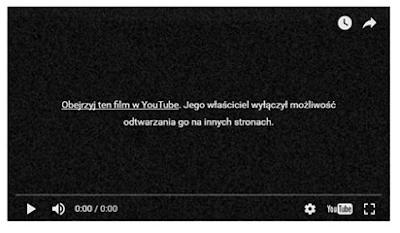 Obejrzyj ten film w YouTube. Jego właściciel wyłączył możliwość odtwarzania go na innych stronach.