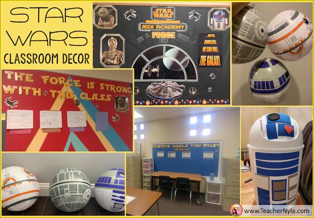 Star Wars Classroom Decor Ideas
