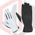 Black Assembly gloves Unlined in grain leather