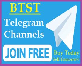 Top 25+ BTST Telegram Channel 2021 (Calls for Tomorrow)
