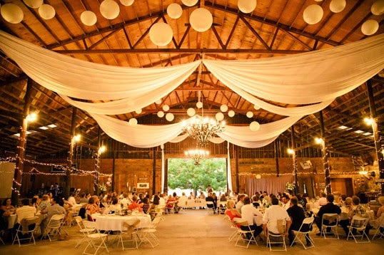 fall rustic wedding reception decoration barn ideas