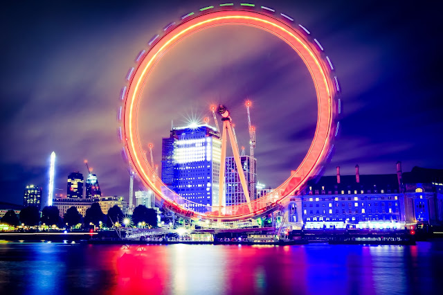 Photo: London Eye at Night