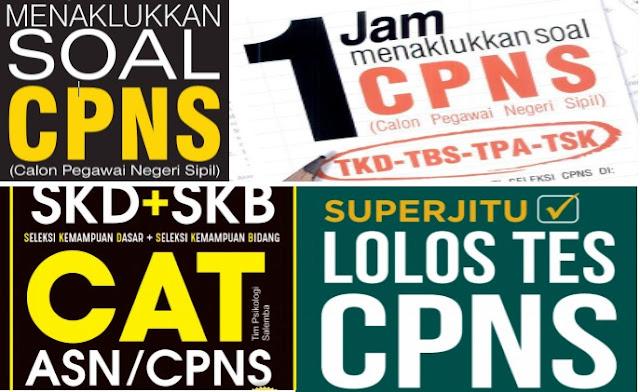 Download Ebook Lengkap Soal Cpns 2019 Pdf Twk Tiu Tkp Skb Tryout