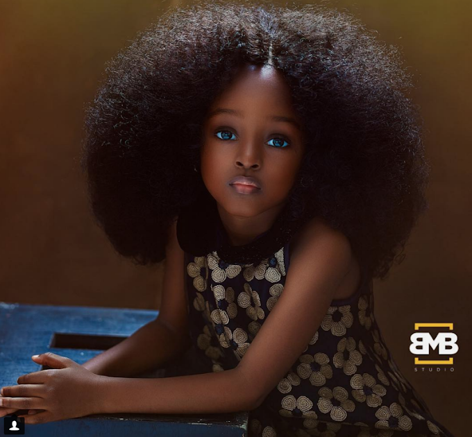 Is this 4-year-old Nigerian the 'most beautiful girl in the world'?