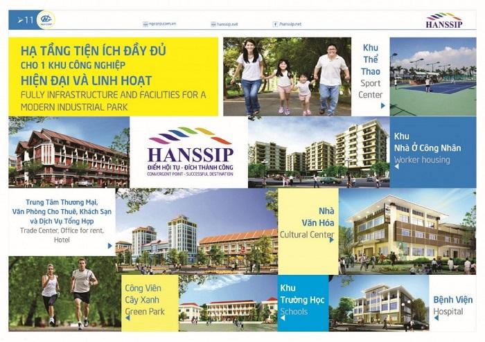 Tiện ích nội khu dự án Inoha City Phú Xuyên hiện đại