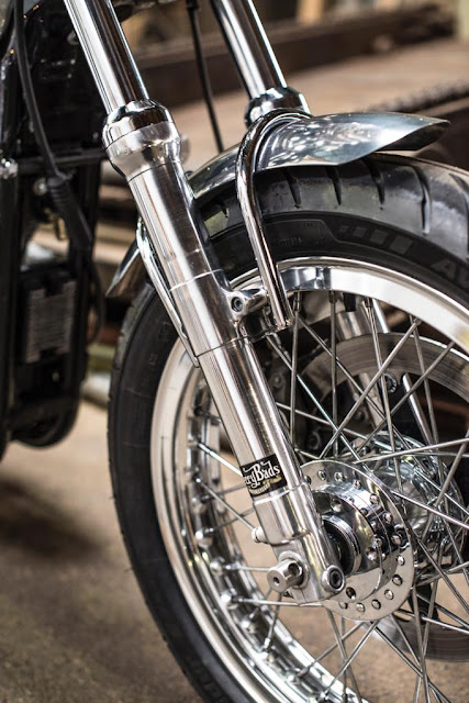Harley Davidson XL1200S By Berry Bads Hell Kustom