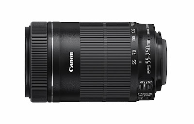 Canon EF-S 55-250mm f/4.5 - 5.6 IS II Lens