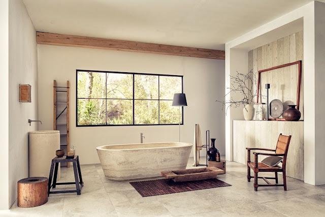 Italian Marble Bathroom Design