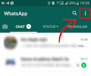 Masuk ke Menu Pengaturan Privasi WhatsApp