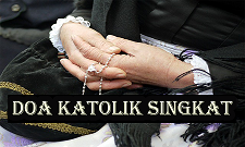 Doa Katolik Singkat lengkap