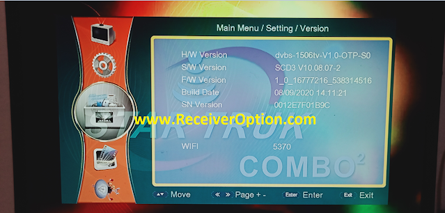 STAR TRUK COMBO 2 1506TV HD RECEIVER NEW SOFTWARE WITH IMEI CHANGING OPTION