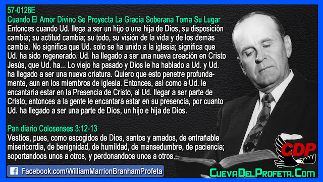 Como ser parte de Cristo - William Branham en Español