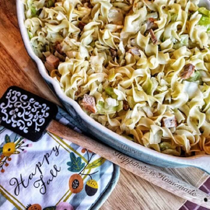 Hearty Pork & Cabbage Noodles