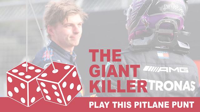 Play the Giantkiller Pitlane Punt