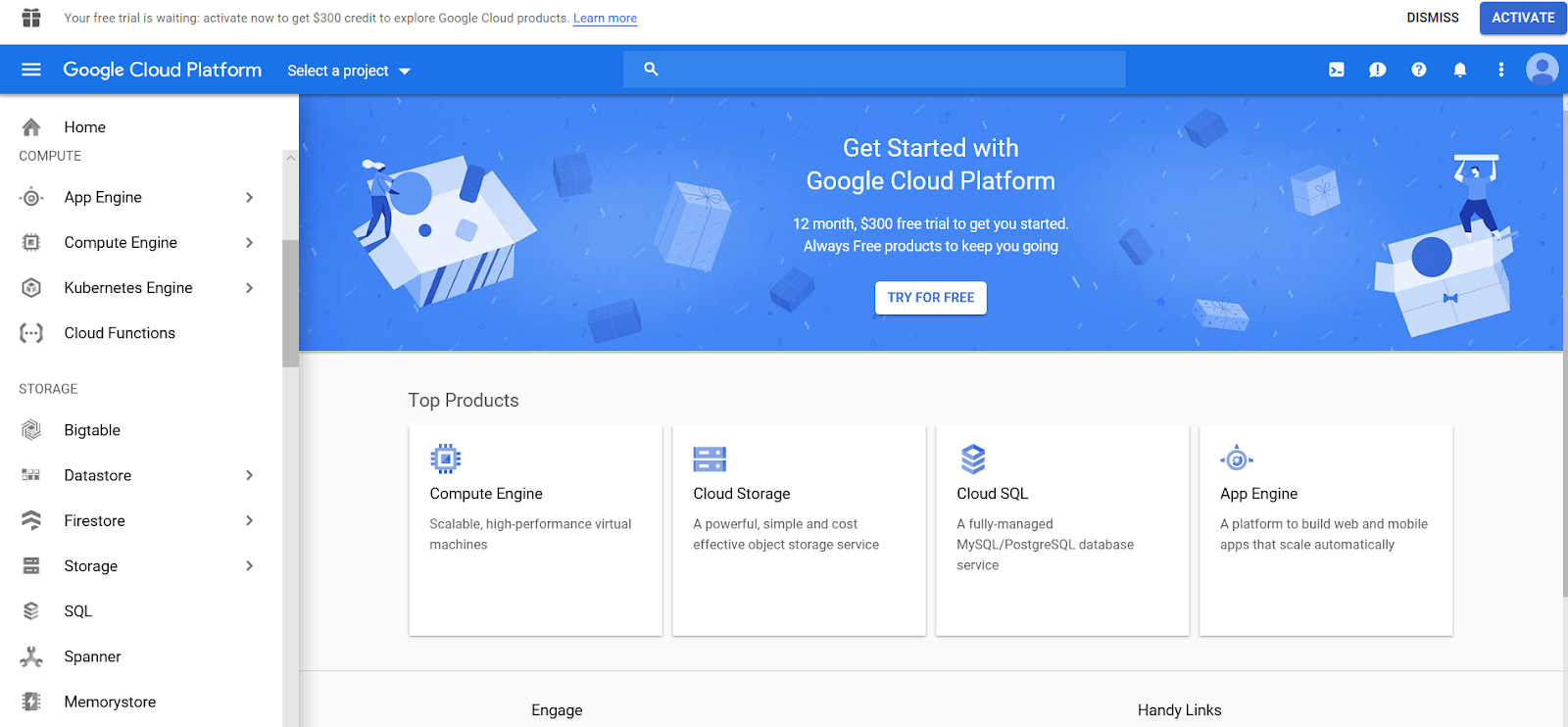 Migrate your data in Google Cloud Storage using Power of Talend