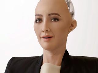 robot sophia'nın yaptığı resim 688.888 dolara satıldı