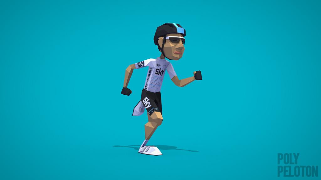1a41506db Poly Peloton  2017 Kit - Team Sky   Le Tour de France