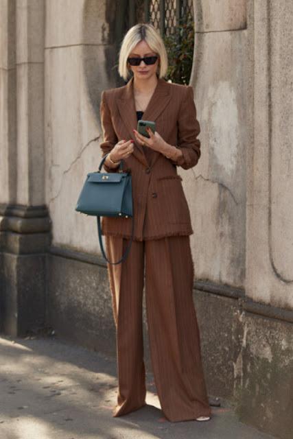 Стильный образ модные брюки 1-4