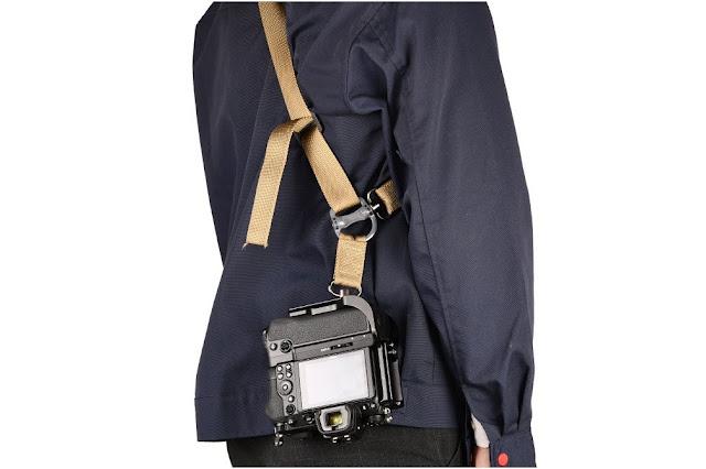 Sunwayfoto PNLO-Z6IIG L Bracket on Nikon Z6II w/ Sling Strap