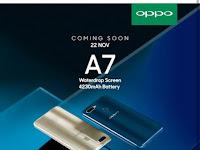 OPPO A7 bisa dipesan di shopee mulai 22 November 2018
