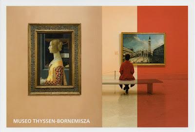 Tarjeta prefranqueada del Museo Thyssen-Bornemisza