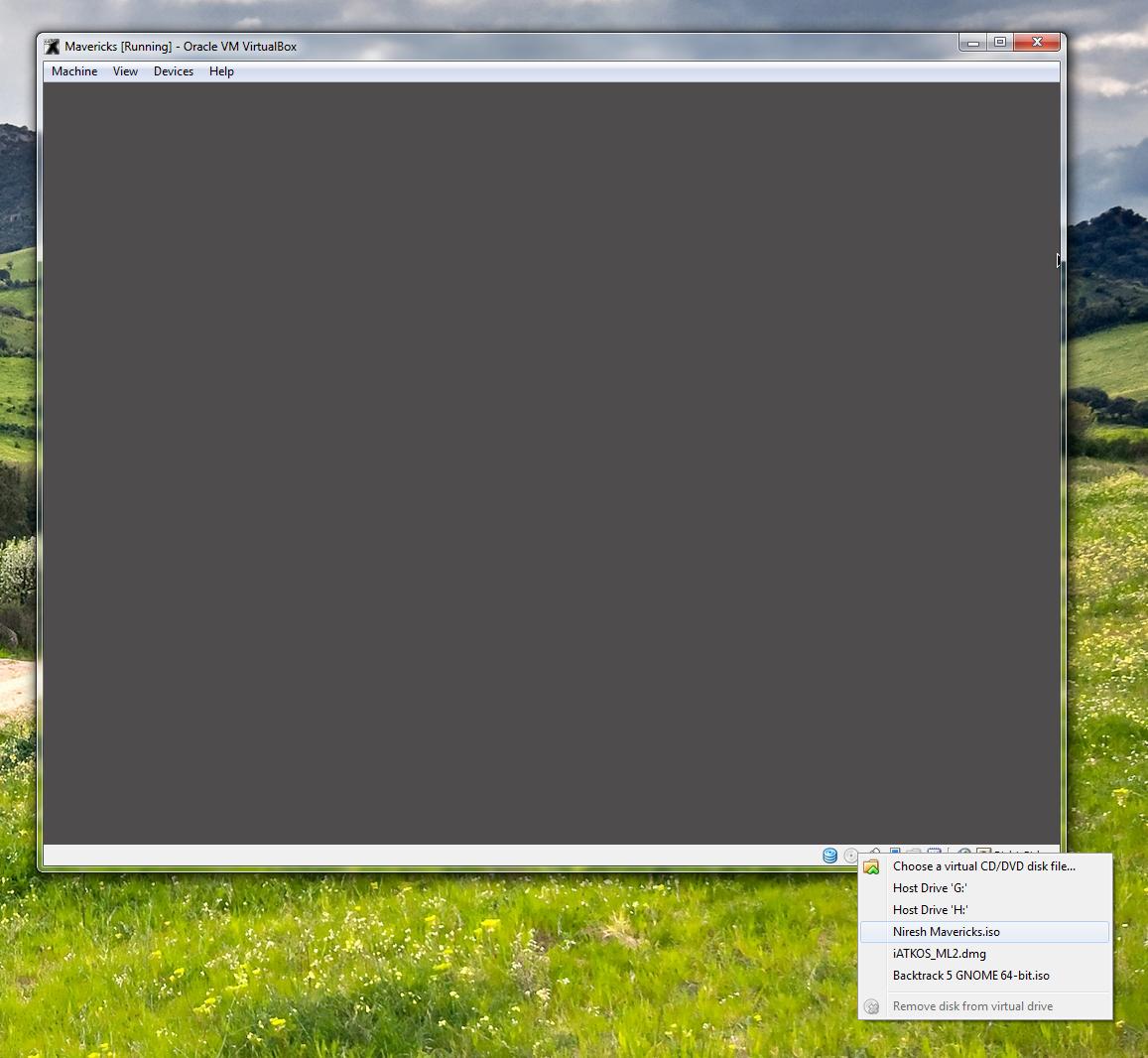 How to install OS X Mavericks in Virtualbox with Niresh