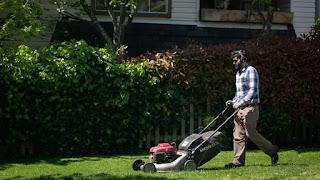 how loud is lawn mower