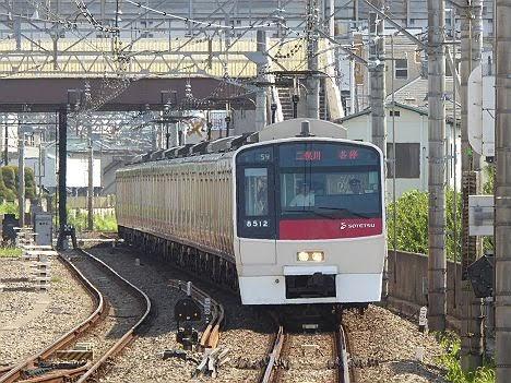 【ダイヤ改正前に消滅!】8000系赤塗装の二俣川行き