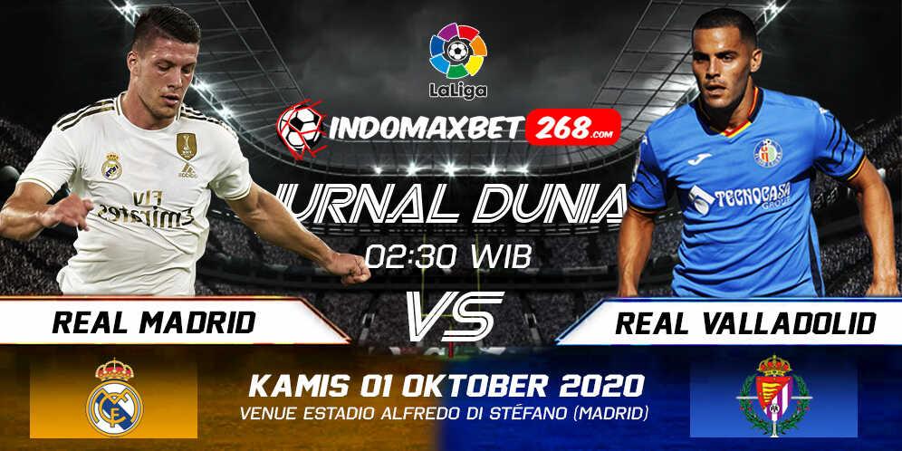 Prediksi Real Madrid Vs Real Valladolid 01 Oktober 2020 Pukul 02.30 WIB