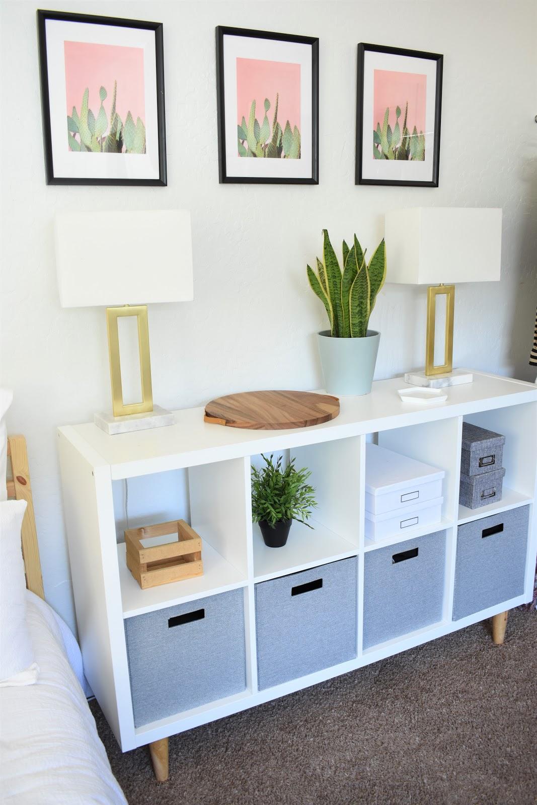 A Simple Ikea Hack Mid Century Modern Kallax Style Me Bright