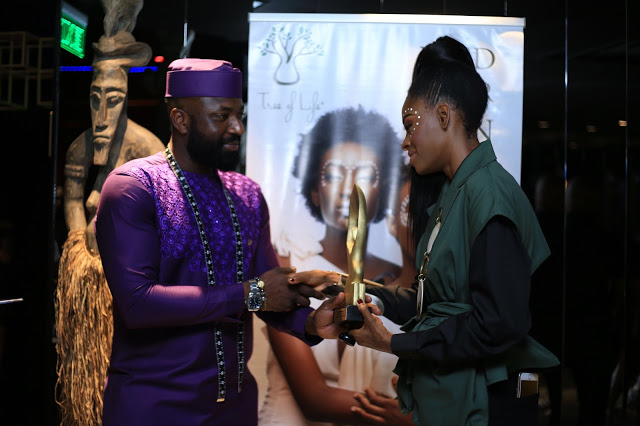 Victoria Michaels Awarded Ghana's Most Classic Model