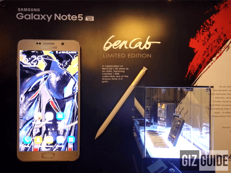 Samsung Galaxy Note 5 BenCab Edtion Now Available!
