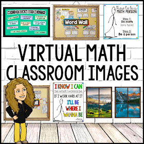 Virtual Math Classroom Images (free pack)