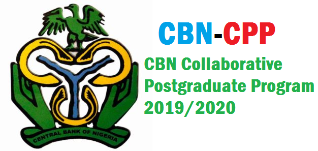 CBN Collaborative Postgraduate Program 2019/2020 in Sellected Universities