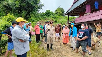 Bersama Wabup dan Forkopimda, Bupati  Keliling Pantau Lokasi Bencana di Wajo untuk Langkah Penanganan