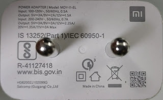 The symbols on the mobile charger are as follows