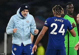 Chelsea full-back Reece James reveal no issue with Thomas Tuchel's squad rotation
