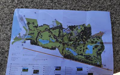 Mapa do Parque da Cidade do Porto