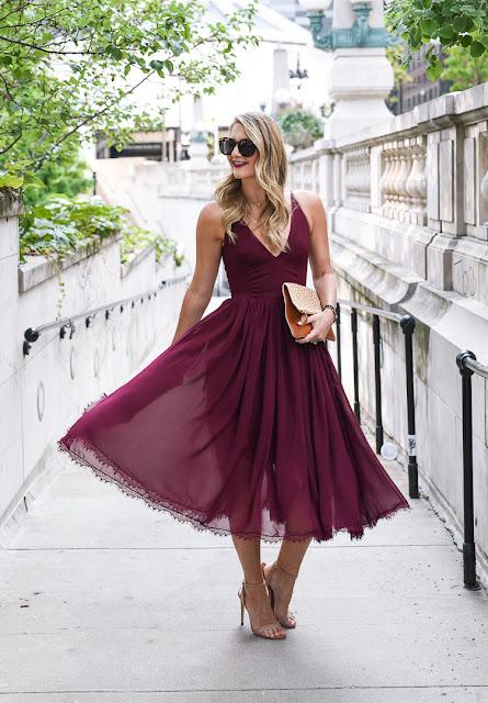 Burgundy Fashion